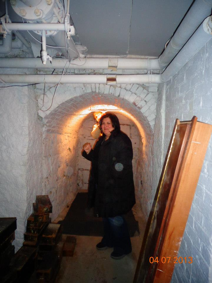 Orbs on the Salem Tunnel Tour. The best salem walking tour.